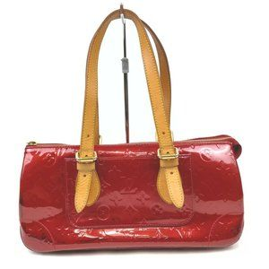 authentic Louis Vuitton Tote Bag Rosewood  REDS